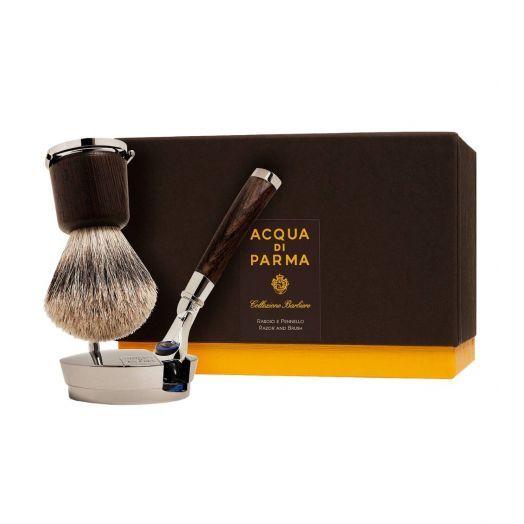 Collezione Barbiere Deluxe Razor & Brush Shaving Stand