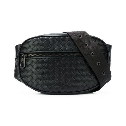 Intrecciato Nappa Belt Bag