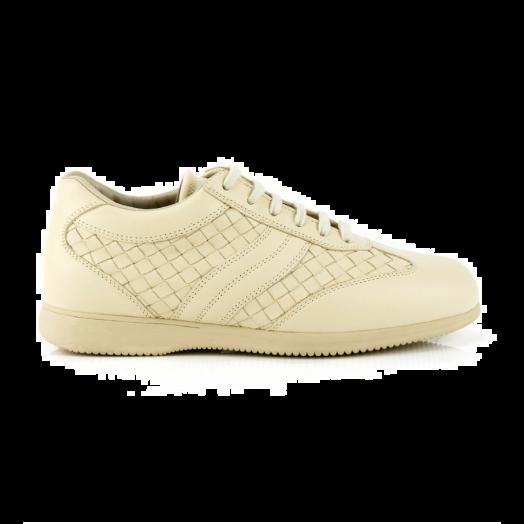 Intrecciato Beige Trainers Sneakers