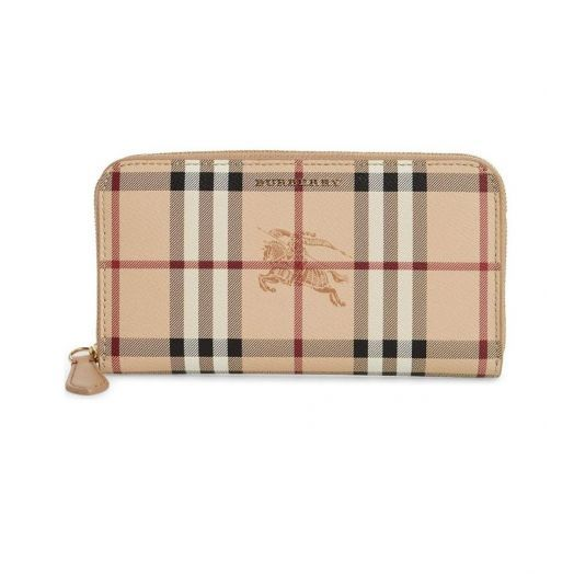 Elmore Haymarket Zip around Beige Wallet