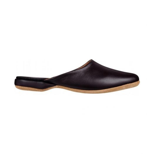 Men's Brown Morgan Leather Slipper