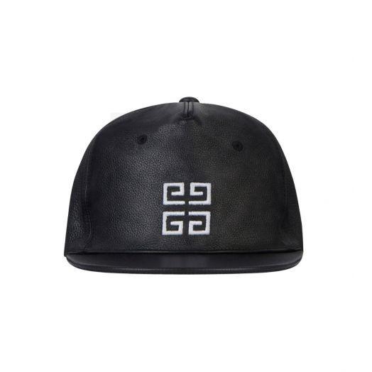 Paris Black Signature Logo Baseball Cap