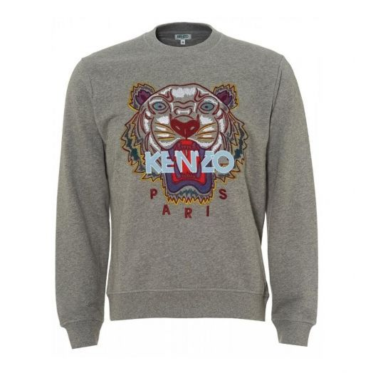 Dove Grey Tiger Sweatshirt