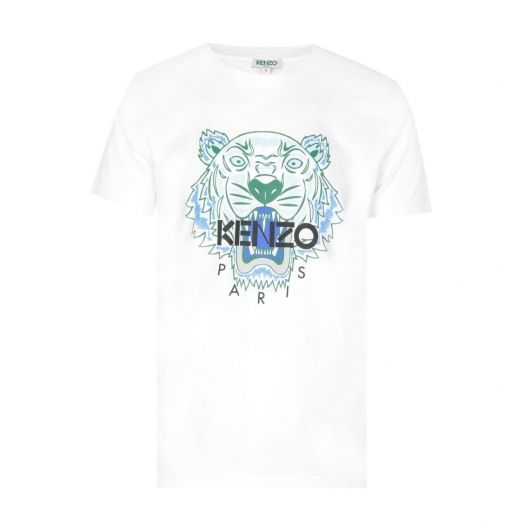 White 'Tiger' Tshirt