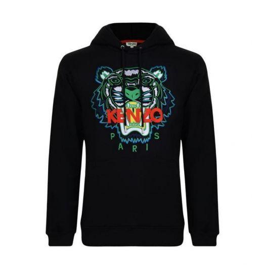 Black Tiger hoodie sweatshirt