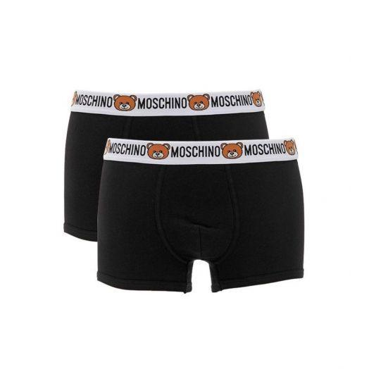 Underwear Bear Logo 2 Pack Trunks