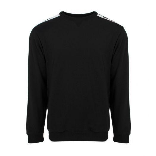 UNDERWEAR TAPE LOGO Black Sweatshirt