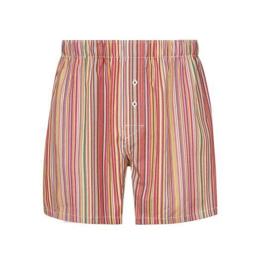 MULTI-COLOURED 'Signature Stripe' Boxer Shorts