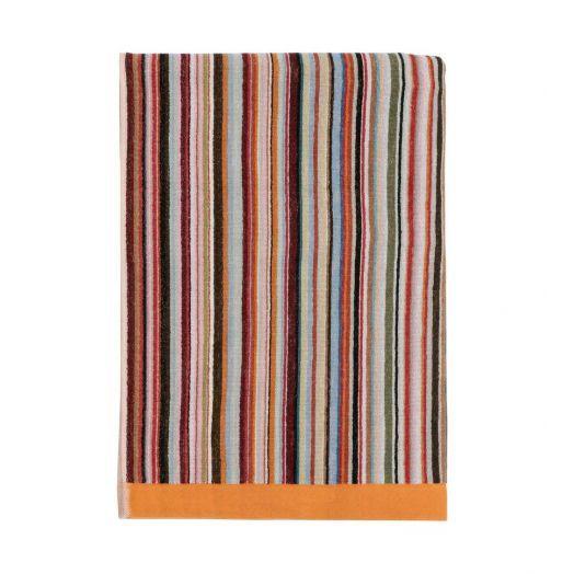 Multi-coloured Signature Stripe Beach Towel