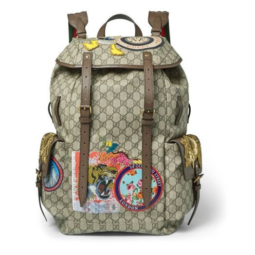 Gucci x Disney Supreme Donald Duck Backpack