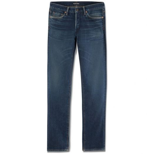 Vintage Selvage Denim Slim Jeans