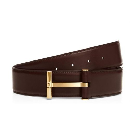 T Buckle Brown Belt