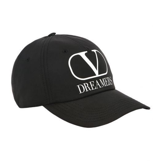 VLOGO Dreamers Black baseball cap